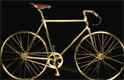 Un  vélo en plaqué or avec un moteur de 35cc devrait  aller chercher jusqu'à  2000 livres sterling