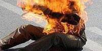 Un jeune homme de 30 ans a s'est immolé par le feu
