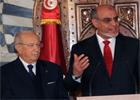 Le nouveau chef du  gouvernement Hamadi Jebali a pris lundi à la Kasbah ses  fonctions en remplacement du premier ministre sortant Béji  Caid Essebsi