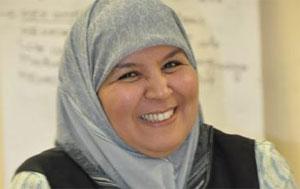La vice-présidente de l'assemblée nationale constituante Mehrzia Laabidi