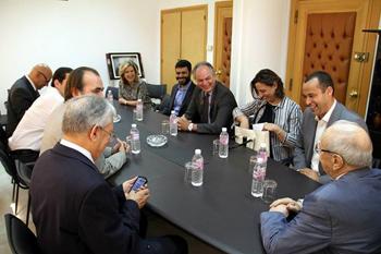 La page facebook du parti Afaq Tounès a fait état d'une réunion entre