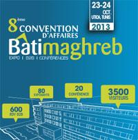 Les 8èmes conventions d'affaires de Batimaghreb se tiendront le 23 et 24 octobre 2013 au siège de l'UTICA. Lors de cette rencontre
