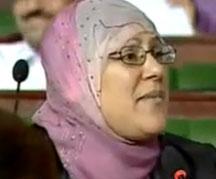L'élue d'Ennahdha à l'ANC