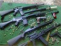 12 armes de type Kalachnikov ont disparu du district de la Garde