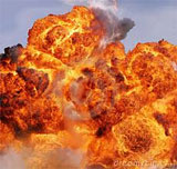Une bombe a explosé