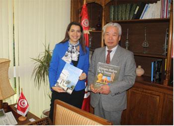 Le tourisme tunisien sera doté  d'un nouveau site Web en langue Japonaise destiné à promouvoir la destination tunisienne au japon et dans les pays asiatiques. Il sera