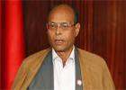 Le président de la République provisoire Mohamed Moncef Marzouki a présenté