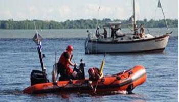 L'épave du bateau de pêche disparu en mer