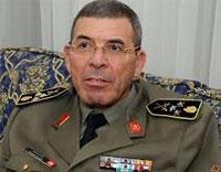 Le général Rachid Ammar qui vient de quitter l'institution militaire