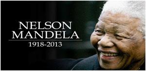 A la suite du décès du leader sud-africain Nelson Mandela