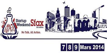 Le Startup Weekend Sfax se tient  du  vendredi 7 au dimanche 9 Mars