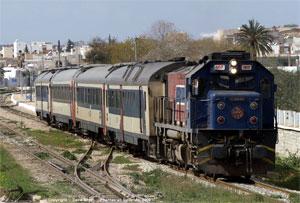 Des inconnus ont incendié la station de train d'Oued Mliz à Jendouba ce