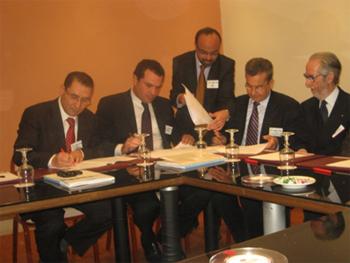 Un coup de main méditerranéen vient d'être étendu pour les PME tunisiennes. Un mémorandum d'entente vient d'être signé jeudi 8 mars 2012 entre la Chambre