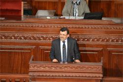 Lors de la séance plénière de l'Assemblée Nationale Constituante du mercredi 8 mai 2013