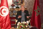 Le président provisoire  tunisien Moncef Marzouki