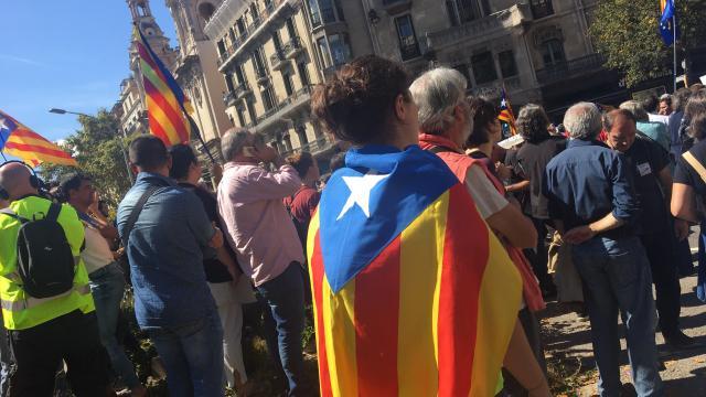 Les indépendantistes de nouveau dans la rue — Catalogne