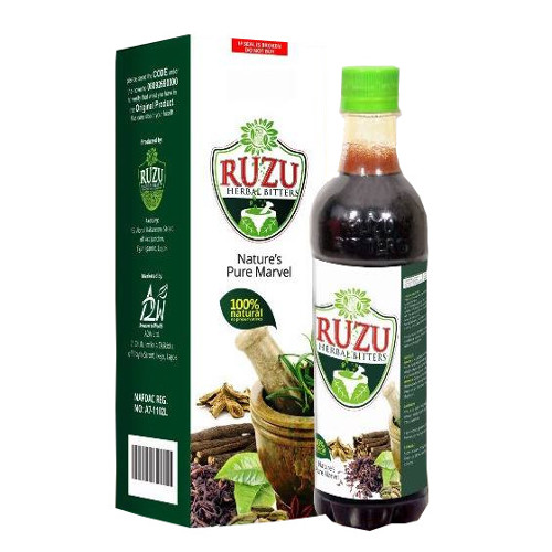 Ruzu Herbal Bitters (500ml)