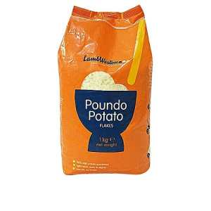 Poundo Potato - 1kg