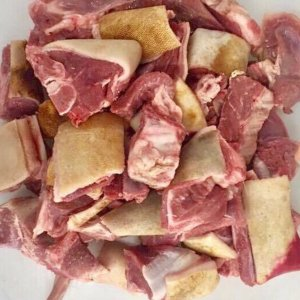 Goat meat with skin 1kg