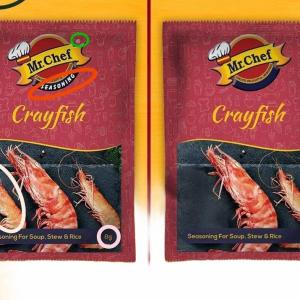 Mr.Chef Crayfish Seasoning For Stew,Soup & Rice (8g) X 3