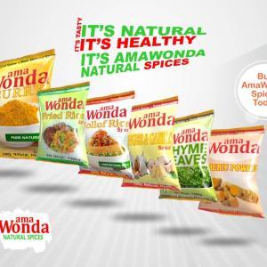 AMA Wonda Jollof Rice Spice -10 gram