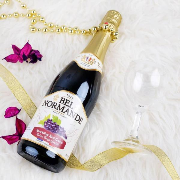 Bel Normande Sparkling Red Grape Wine