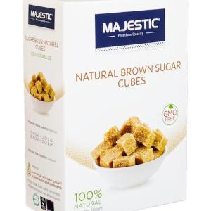Majestic Natural Brown Sugar Cubes