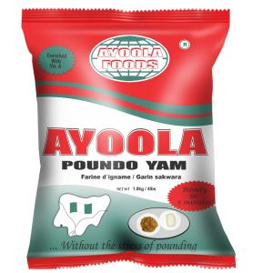 Ayoola Poundo Yam Flour 1.8kg