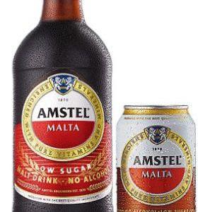 Amstel Malta Low Sugar x 1 Can