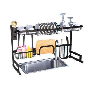 (Big Size) Over The Sink Kitchen Dish Drainers Shelf Rack Organizer.