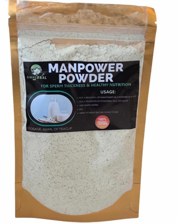 Manpower Powder 100%Natural