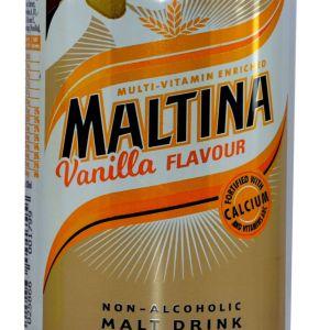 Maltina Vanilla Flavour x 24 cans