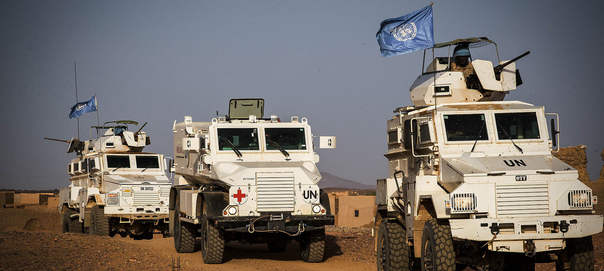 Mali : l'ONU condamne l'attaque meurtrière contre des Casques bleus à Kidal