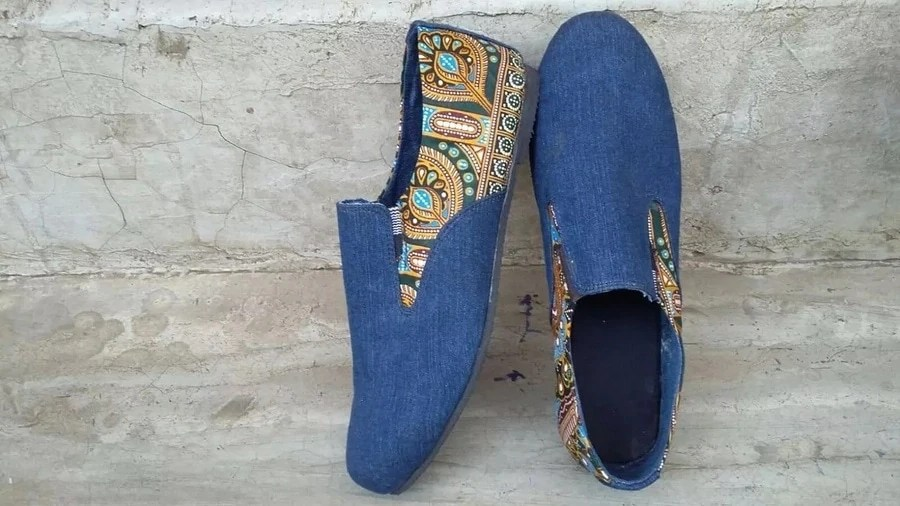 Ankara Shoes 19