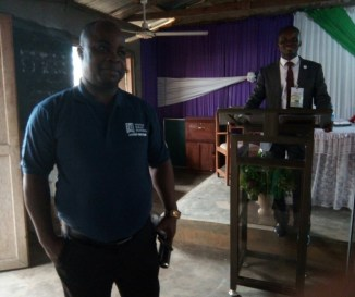 Mojima & Bassey Esang at the WBSET Inauguration