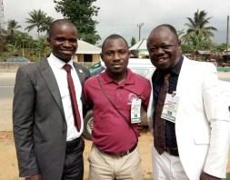 Mojima Etokudo, Samson Alabi & Mike Udam