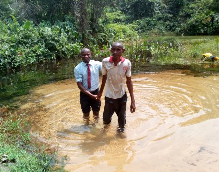 Monday Ezekiel coming out of water grave