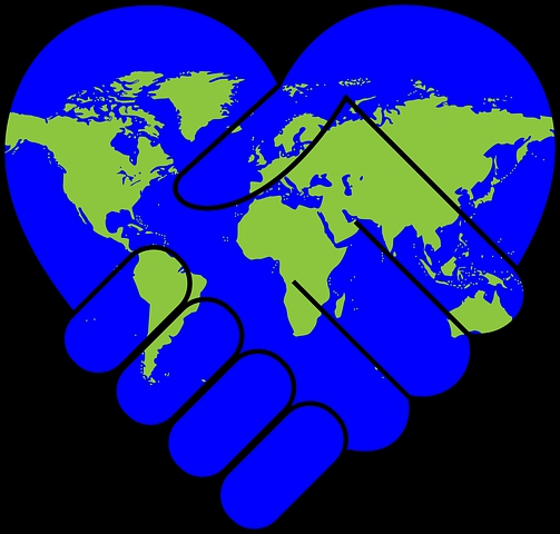 Peace not as the world gives Symbol