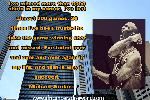 Best inspirational quotes:Michael Jordan