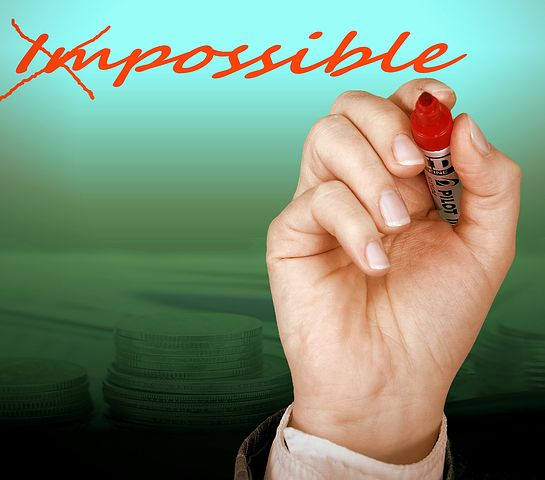 Your faith as a Christian should make you believe that with God all things are possible