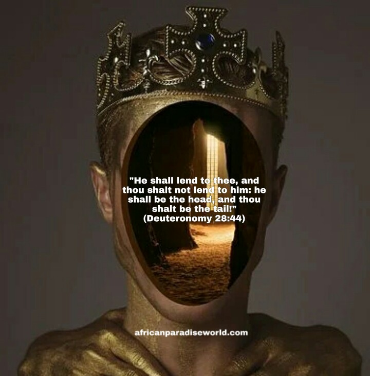 Bible quote about being the head