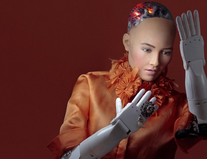 Robot Sophia's impact in our social lives