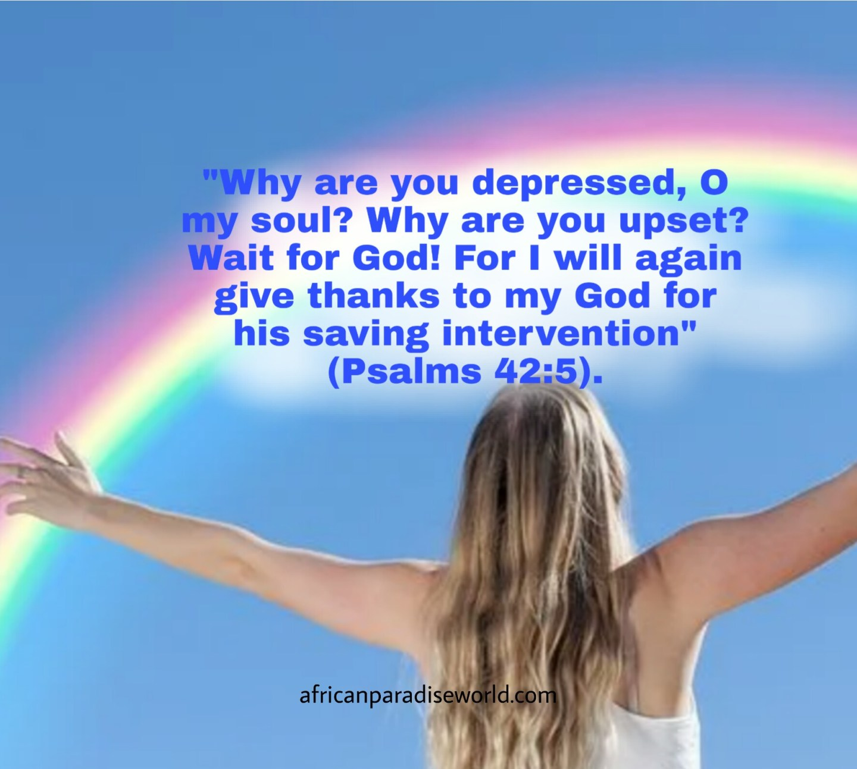 Bible verses to be grateful — Psalms 42:5
