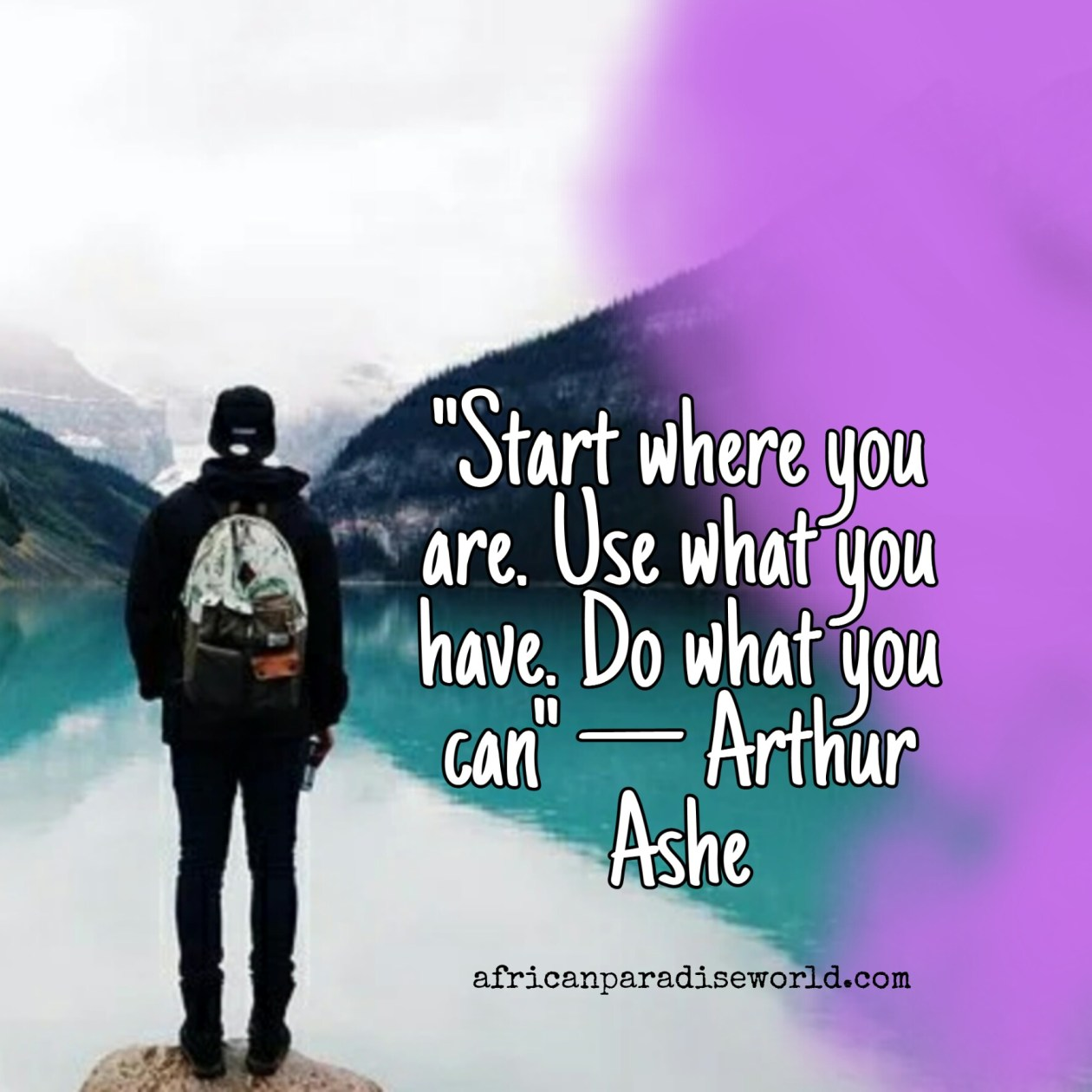 Success inspirational quotes —Arthur Ashe