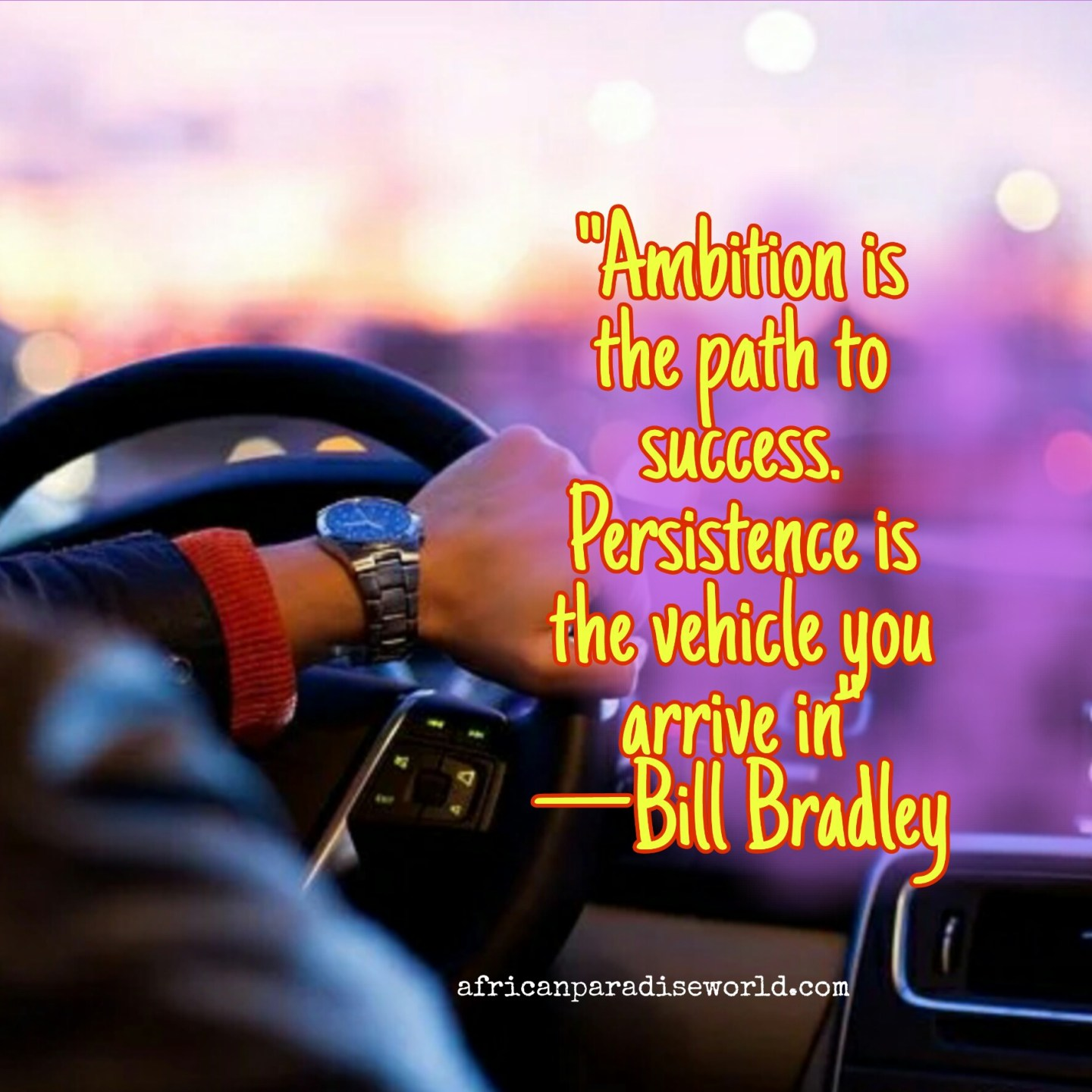 Successful motivational quotes about ambition