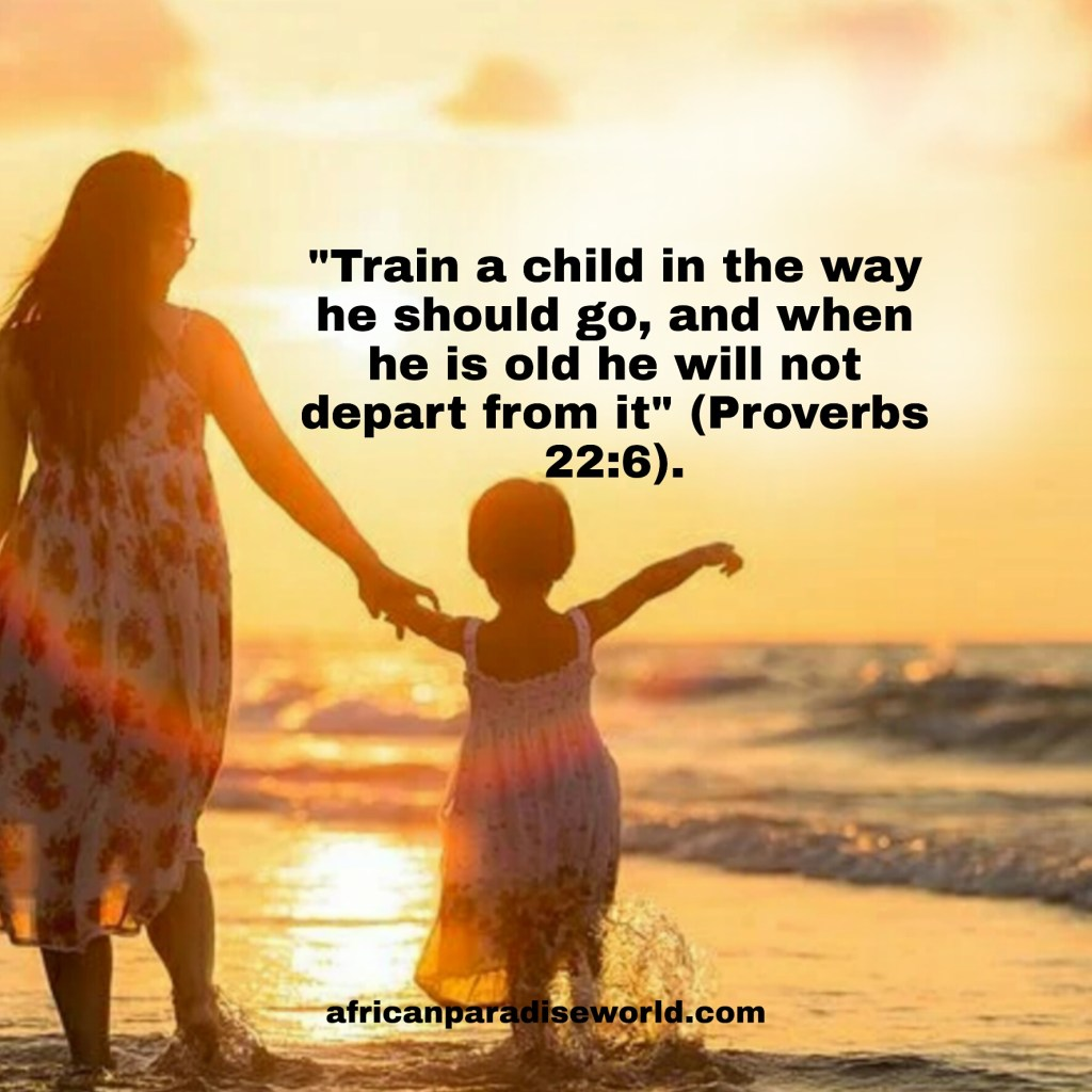 Train a child the way he should go