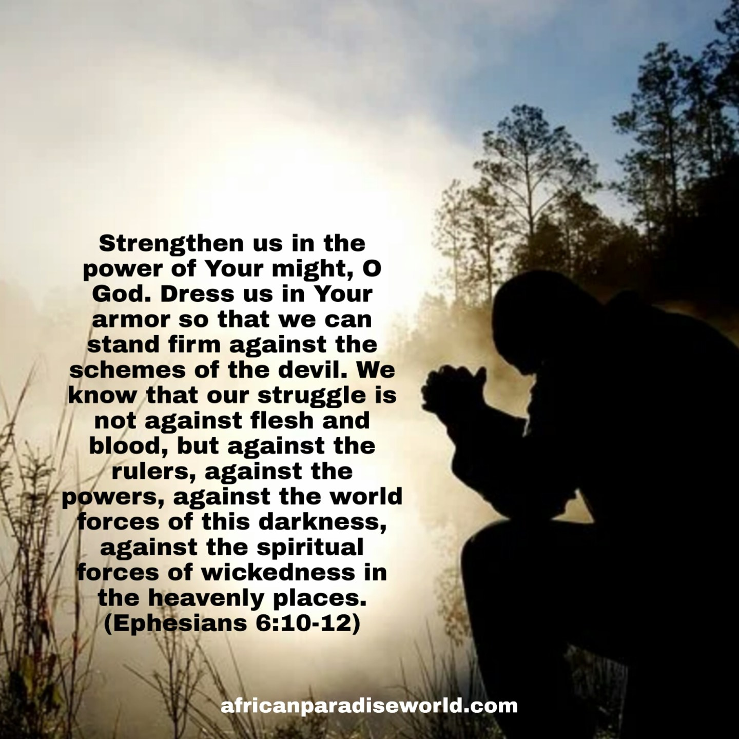 Pray for strength