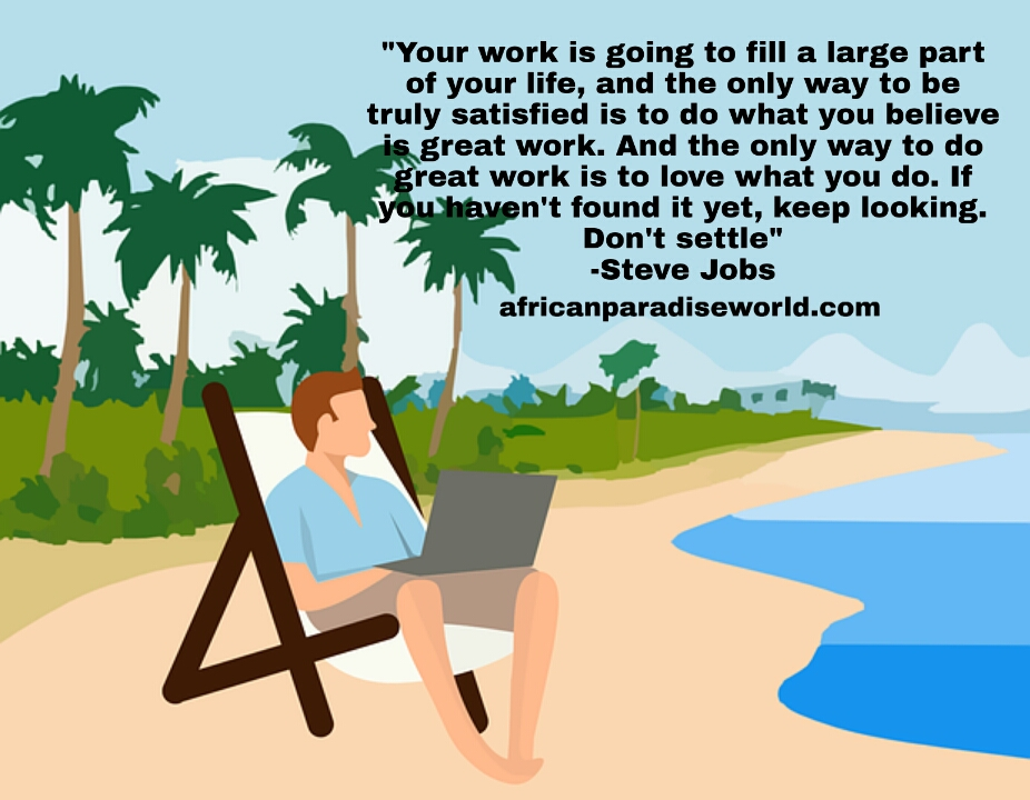 Work takes part of your life quote