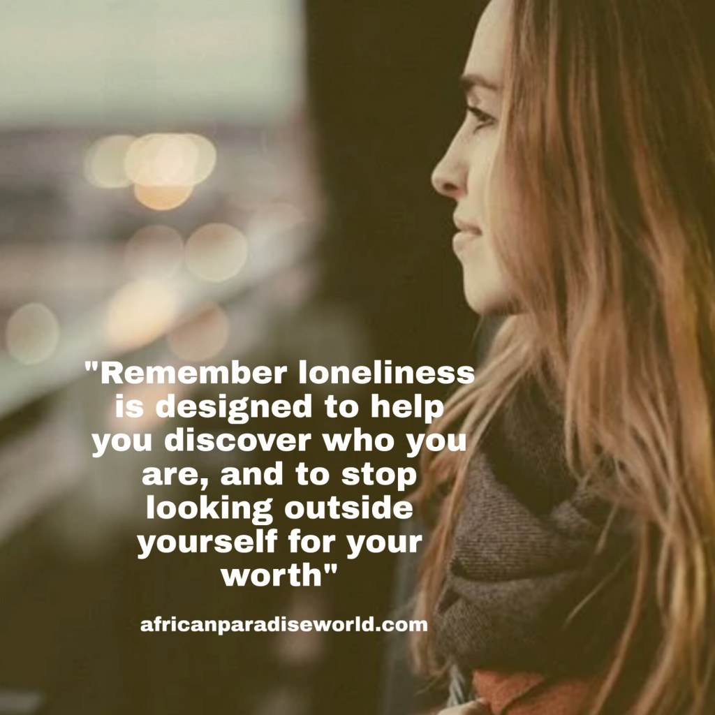 Loneliness in life quote