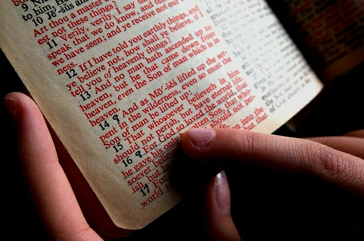Reading the Bible to increase in faith